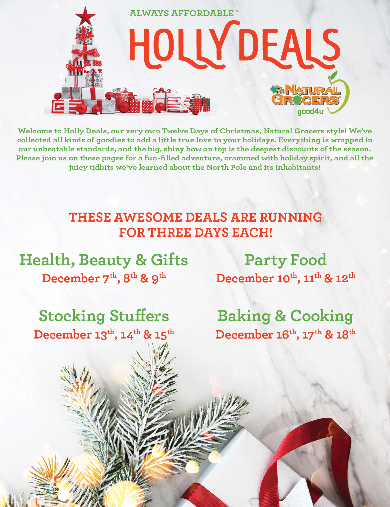 Holly Deals 2019