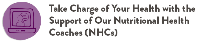 Take Charge of Your Health with our NHCs