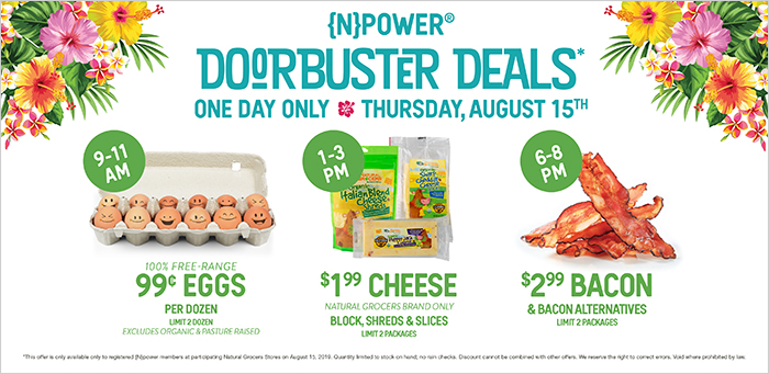 64th Anniversary Doorbusters