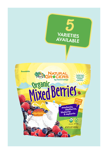 Natural Grocers Brand Organic Frozen Fruit