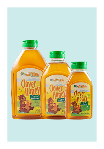 Natural Grocers Brand Raw And Unfiltered Clover Honey Natural Grocers