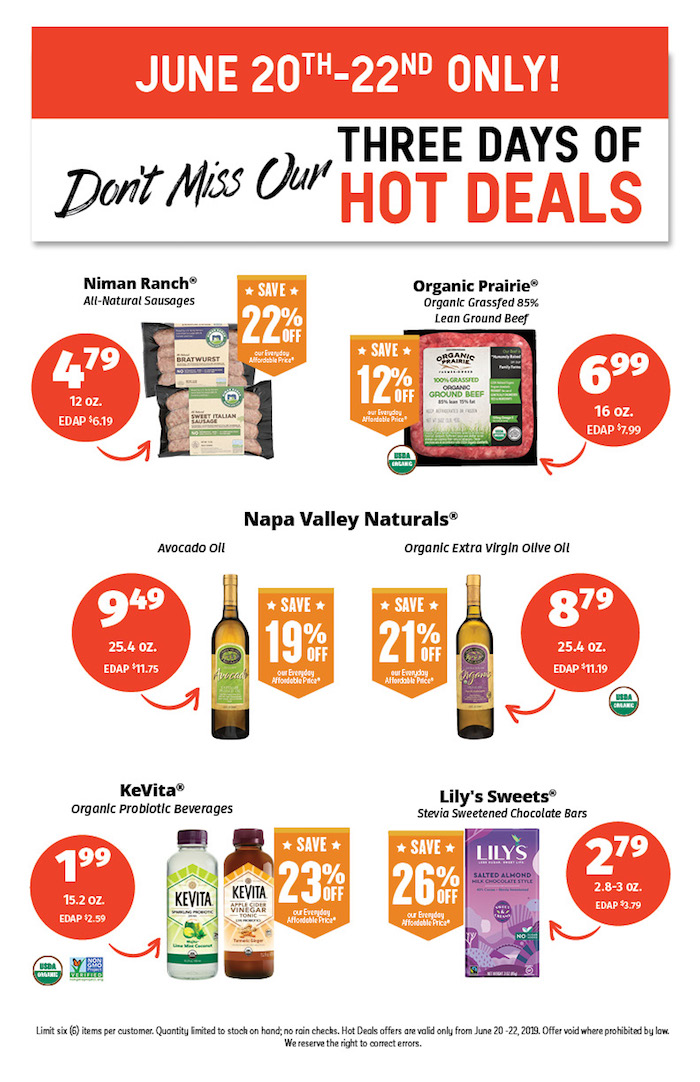 Hot Deals June 20 to 22nd