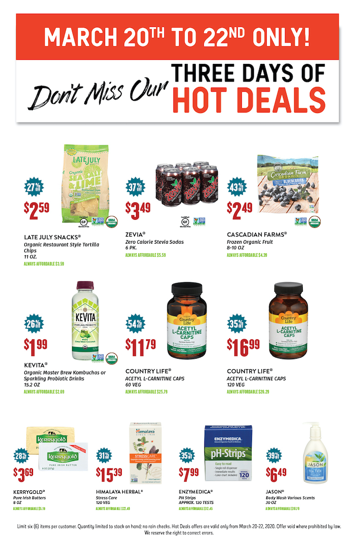 NG March Hot Deals