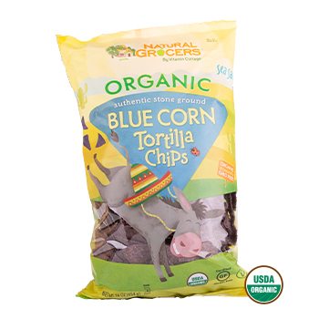 NGVC Blue Corn Tortilla Chips