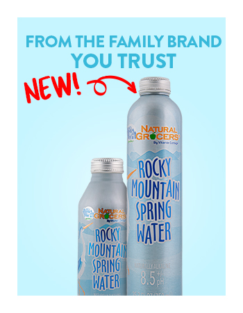 Natural Grocers Brand Spring Water