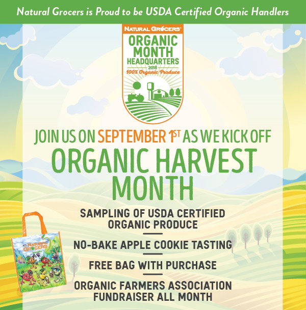 Natural Grocers Organic Month