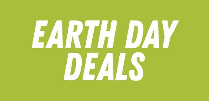 Earth day deals