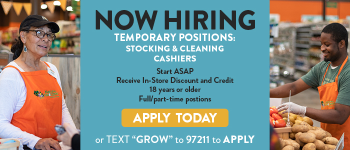 Natural Grocers Temp Hiring