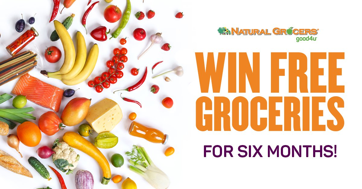 Win Free Groceries for Six Months
