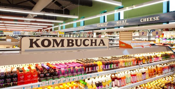 Kombucha in Organic Grocery Store | Natural Grocers Flagstaff