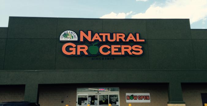 Natural Grocers Fargo Storefront - Grocery Store