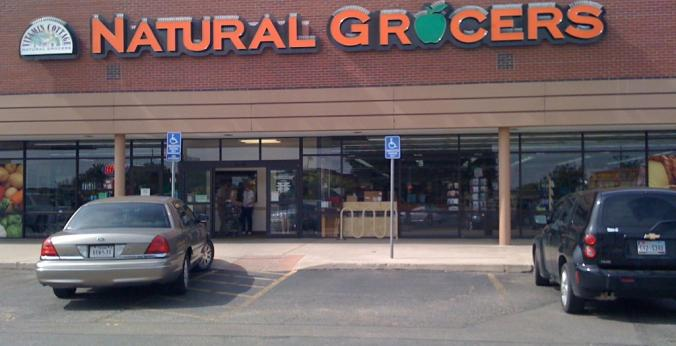 Natural Grocers Amarillo Storefront