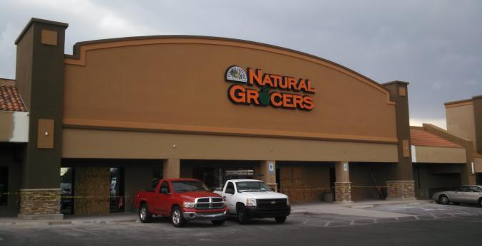 Natural Grocers Oracle and Orange Grove Storefront