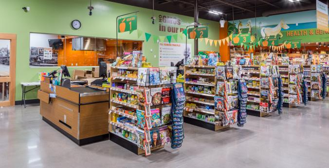 Grocery Store Check Out | Natural Grocers Gilbert - Baseline