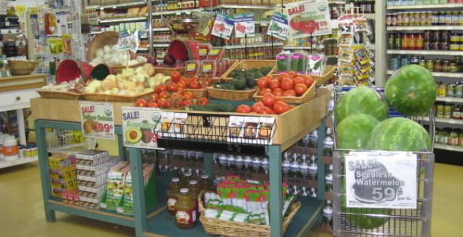 Organic Grocery Store Interior | Littleton Natural Grocers