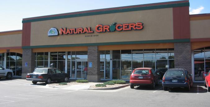 Natural Grocers Longmont CO Storefront