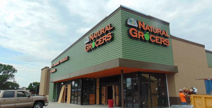 Natural Grocers Rochester Storefront