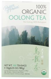 TEA OOLONG ORG 100 CT