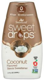 COCONUT STEVIA DROPS 1.7 OZ