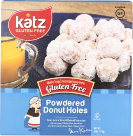 POWDERED GF DONUT HOLES 6 OZ