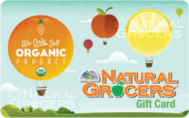 Natural Grocers Gift Card Image